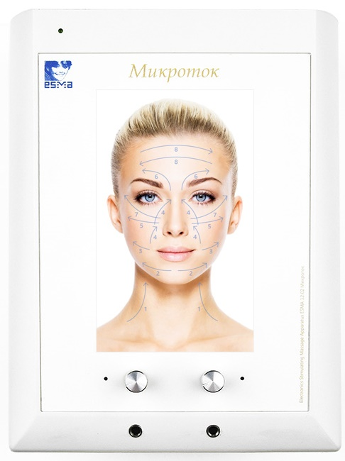 Технические характеристики аппарата для микротоковой терапии ЭСМА 12.02