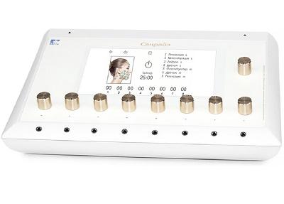 Характеристики аппарата для миостимуляции ESMA 12.50 Санрайз