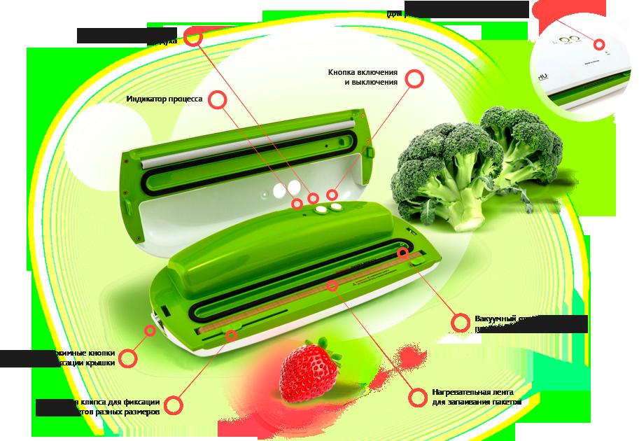 Описание вакуумного упаковщика GOCHU VAG-470