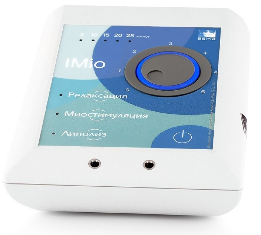 Технические характеристики миостимулятора ESMA12.01 Imio