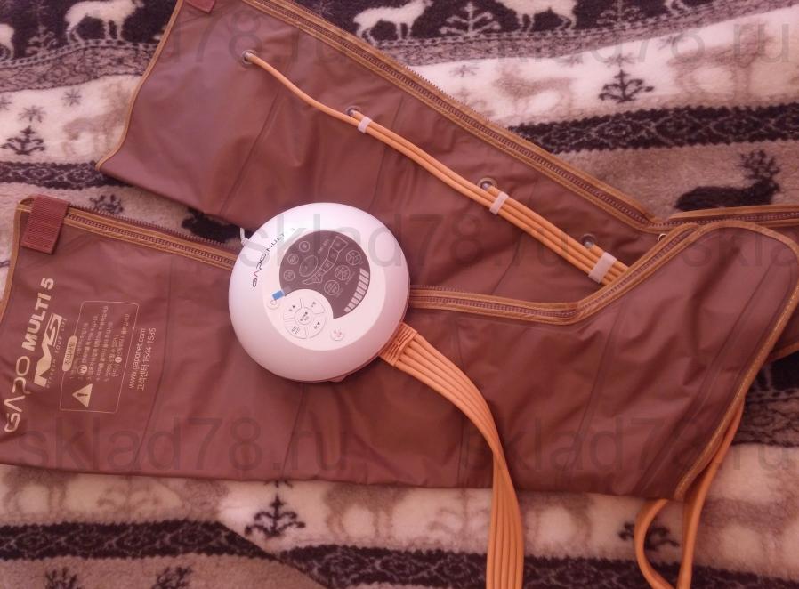 Отзыв о лимфодренажном аппарате GAPO Multi-5 Gold www.sklad78.ru