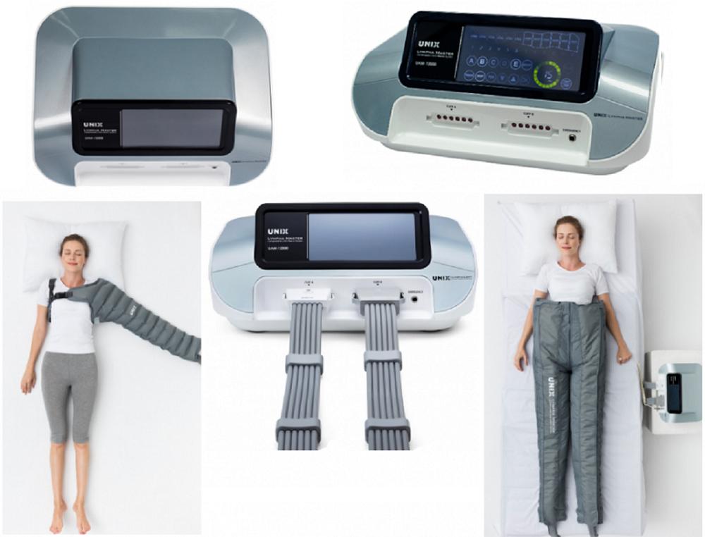 Покупайте аппарат для прессотерапии и лимфодренажа UNIX LYMPHA MASTER комплект «Аппарат + Комбинезон + Рукав» 12 камер. в интернет-магазине www.sklad78.ru